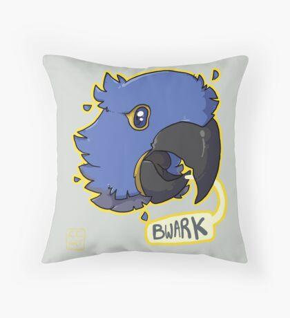Bwark Throw Pillow