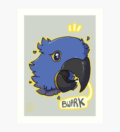 Bwark Art Print