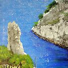 Cassis Calanques by Heberto   G. Cavazoz
