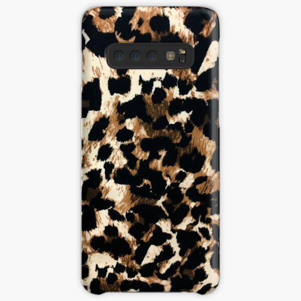 girly feminine African tribal brown leopard print Samsung Galaxy Snap Case