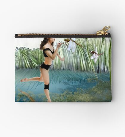 Fireflies on the Enchanted Lake - Arual Studio Pouch