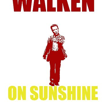 Walken on Sunshine by adamgoodison1