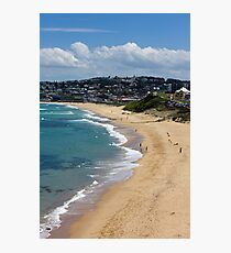 The Golden Shores Of Bar Beach Photographic Print