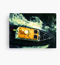 Pilot boat off the coast of Honolulu, HI Canvas Print