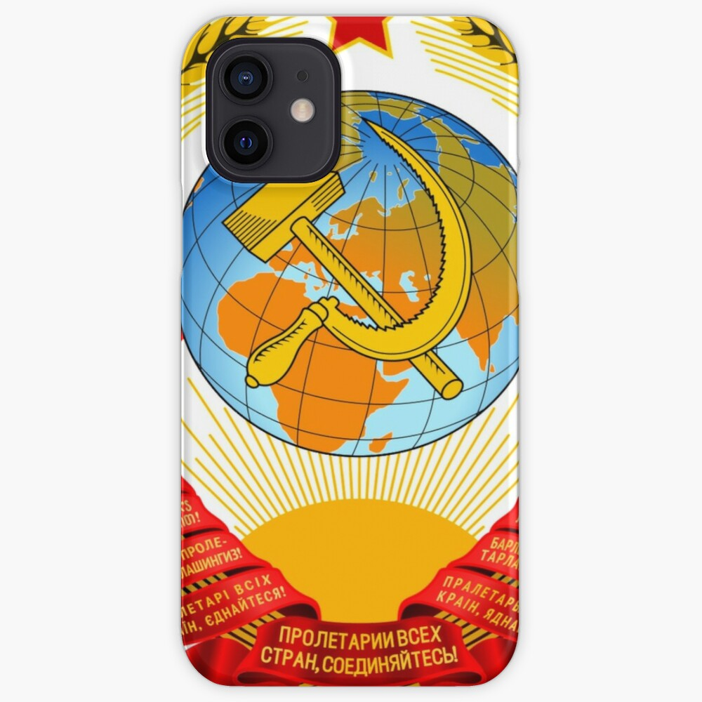 History of the Soviet Union (1927–1953) State Emblem of the Soviet Union iPhone Case & Cover
