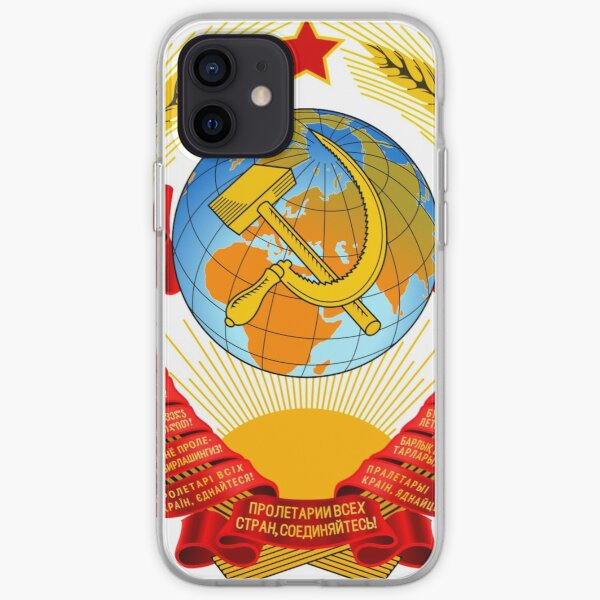 History of the Soviet Union (1927–1953) State Emblem of the Soviet Union iPhone Soft Case