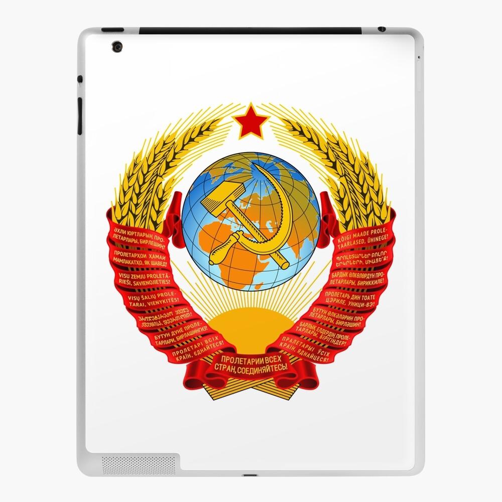 History of the Soviet Union (1927–1953) State Emblem of the Soviet Union iPad Case & Skin