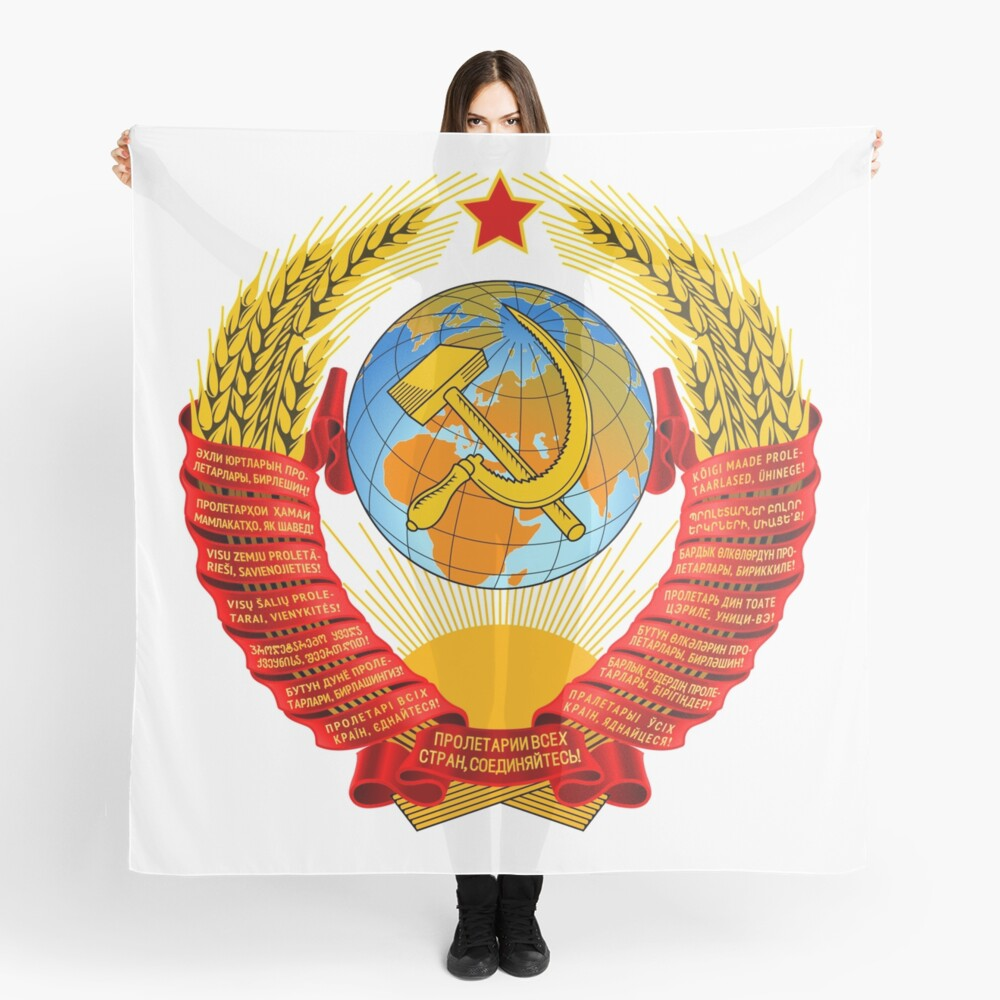 History of the Soviet Union (1927–1953) State Emblem of the Soviet Union Scarf