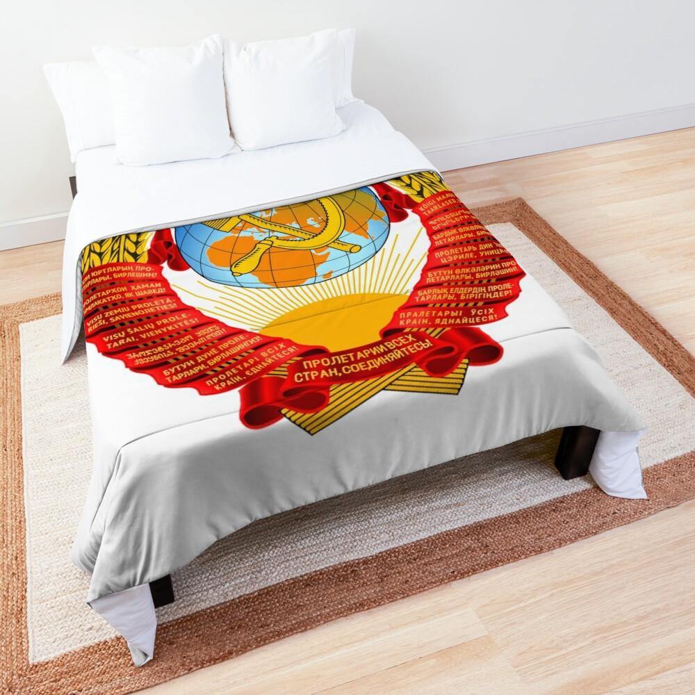 History of the Soviet Union (1927–1953) State Emblem of the Soviet Union Comforter