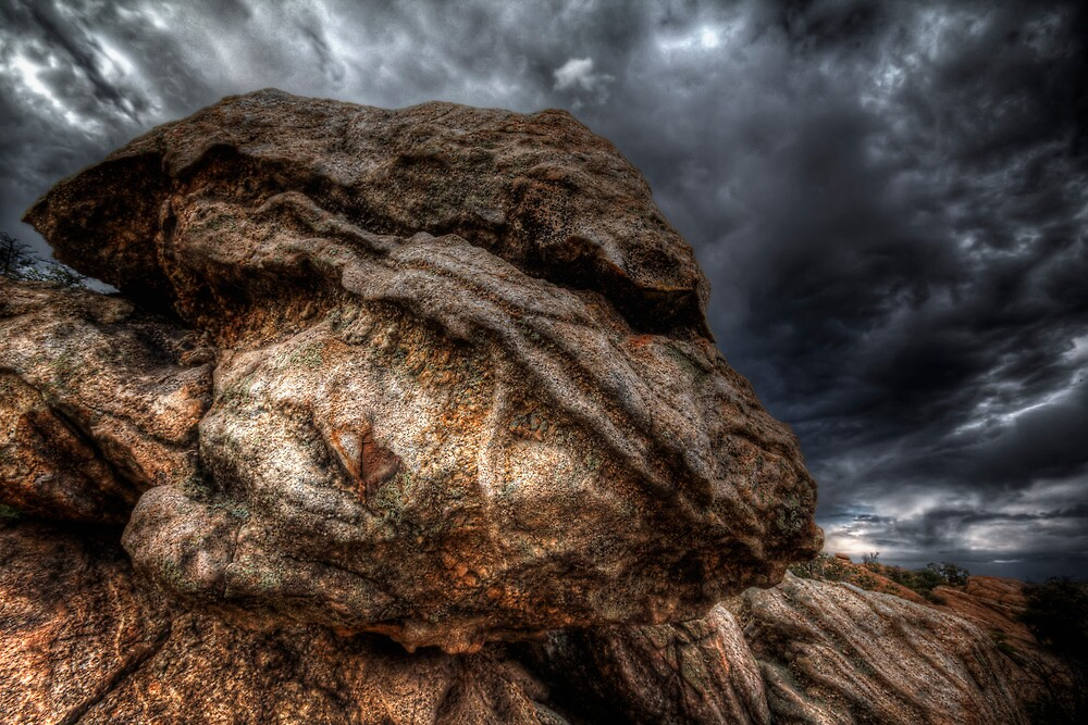 Angry Rock by Bob Larson