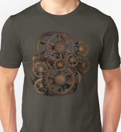 Infernal Vintage Steampunk Gears on your Gear T-Shirt