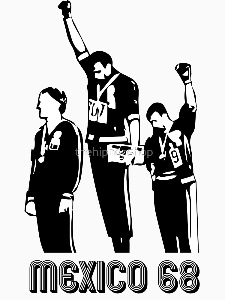 Olympische Spiele 1968 Black Power Salute V2 von thehiphopshop