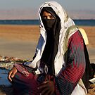 Beduin Woman by Helen Shippey