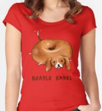 Beagle Bagel Women's Fitted Scoop T-Shirt