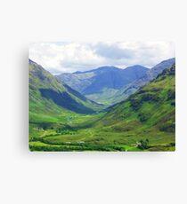 Glen Lichd - Kintail Canvas Print