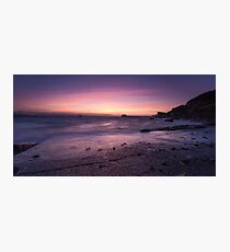Pre-dawn at Swansea Bay Photographic Print