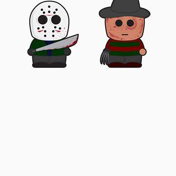 Freddy vs Jason by miklz