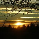 Sunset at Cape Blanco by Bryan D. Spellman
