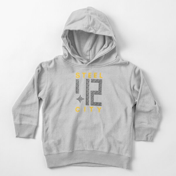 Steel City 412 Pittsburgh Shirts Stickers T-Shirt Toddler Pullover Hoodie