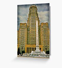 Shuffle Off To Buffalo - This Way! This Way! Greeting Card