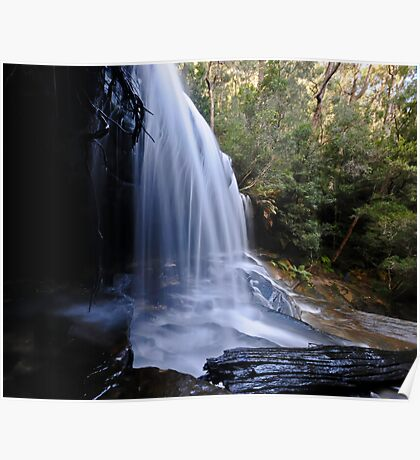 Lower Somersby Falls, the Side View. Poster
