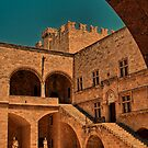 Greece. Rhodes. Palace of the Grand Master of the Knights of Rhodes. by vadim19