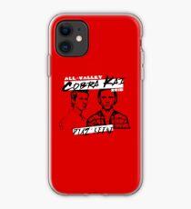 Diaz vs Keene (Red Background) - Cobra Kai Official Merch iPhone Case