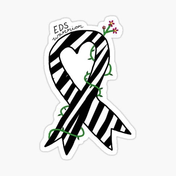 EDS Warrior Ribbon Sticker