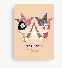 Best Burlesque Babes Forever Canvas Print