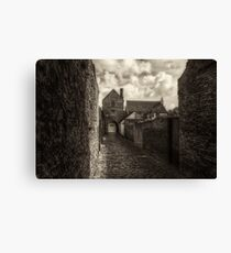 Cobbled Streets Canvas Print