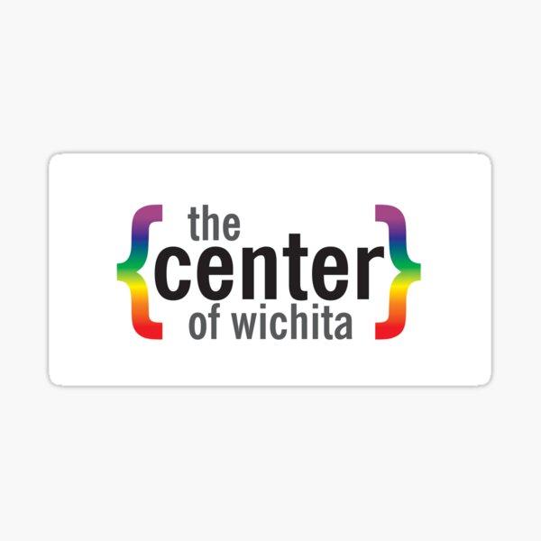 The Center of Wichita Sticker