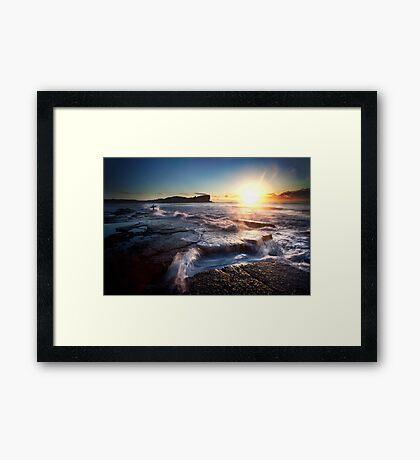 Avalon Beach Framed Print