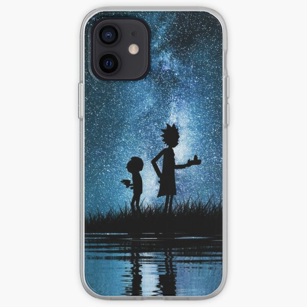 Rick and Morty in Space iPhone Soft Case