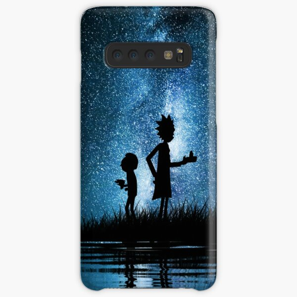Rick and Morty in Space Samsung Galaxy Snap Case