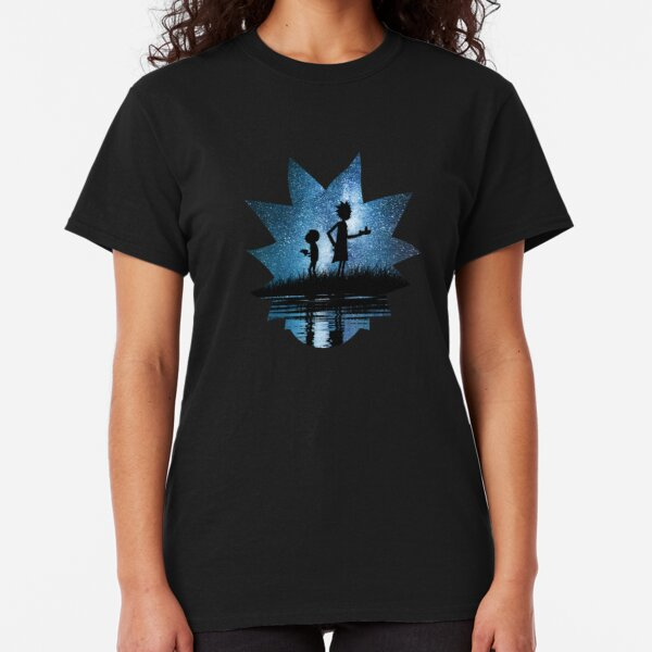 Rick and Morty in Space Classic T-Shirt