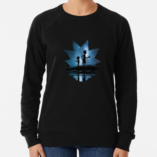 Rick and Morty in Space Lightweight Sweatshirt