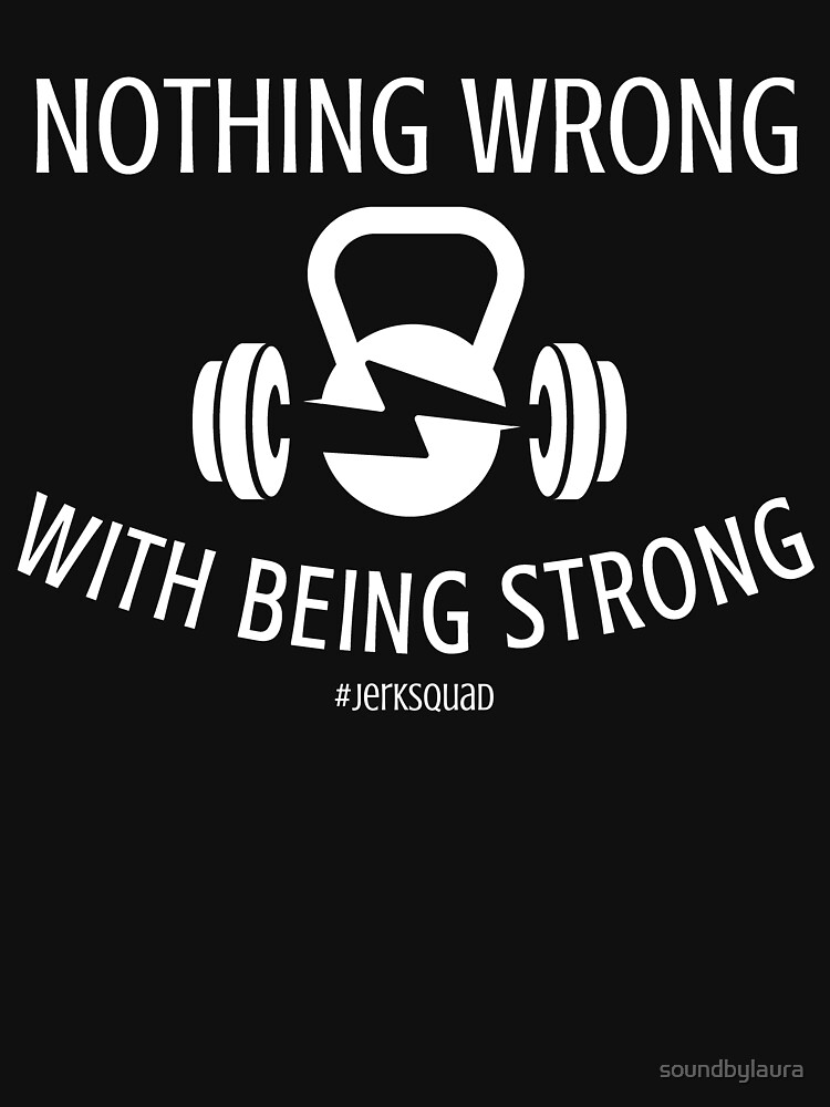 Nothing Wrong With Being Strong - White by soundbylaura