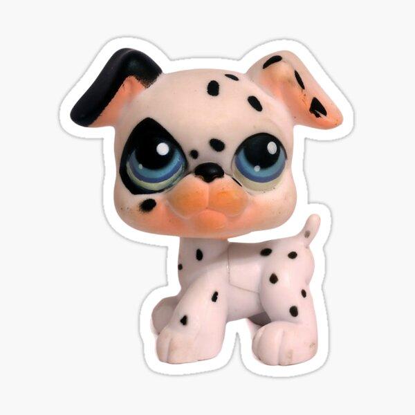 Dalmatian Littlest Pet Shop Sticker