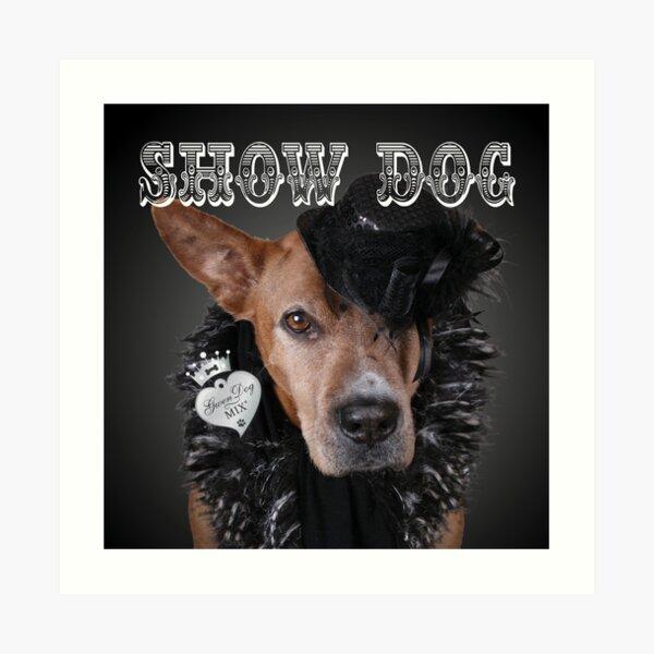 Show Dog Art Print