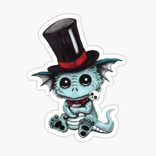 Cute Dragon Sculp Sticker