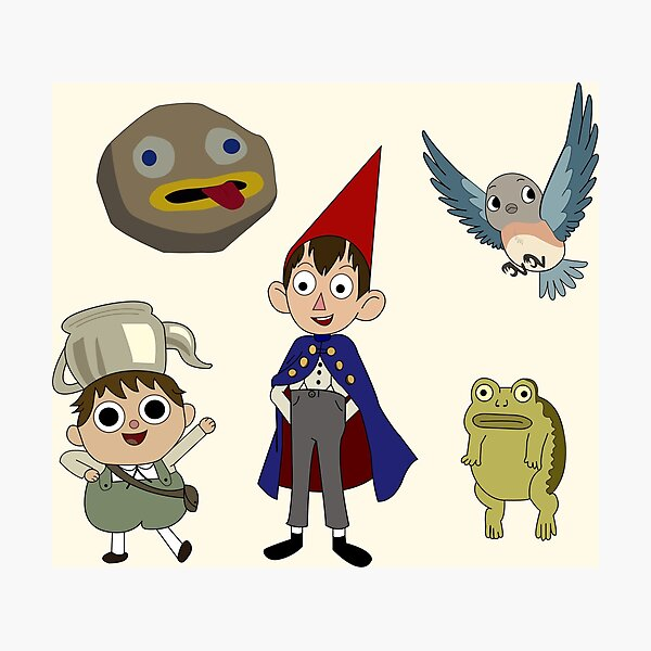 Otgw Characters Photographic Print By Xangie8204 Redbubble