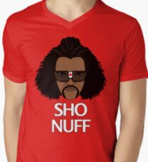 The Sho Nuff! Men's V-Neck T-Shirt