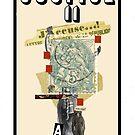 Dada Tarot- Justice by Peter Simpson