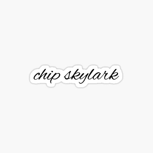 CHIP SKYLARK Sticker