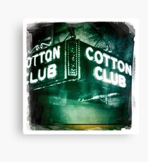 Cotton Club Canvas Print