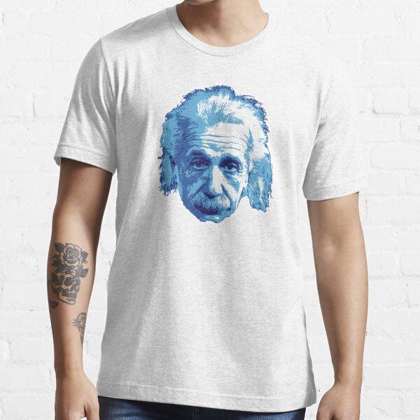 Albert Einstein - Theoretical Physicist - Blue Essential T-Shirt