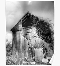 Beautiful Old Barn Poster