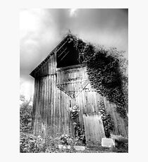 Beautiful Old Barn Photographic Print