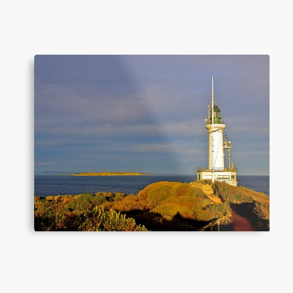 Lighthouse, Point Lonsdale, Victoria, Metal Print