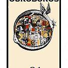 Dada Tarot- Ouroboros by Peter Simpson